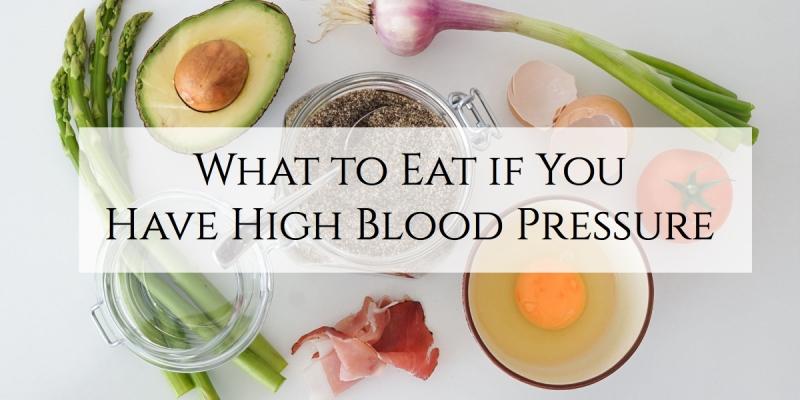 high blood pressure diet foods